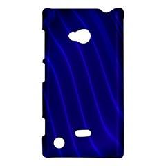 Sparkly Design Blue Wave Abstract Nokia Lumia 720
