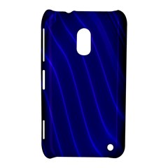 Sparkly Design Blue Wave Abstract Nokia Lumia 620
