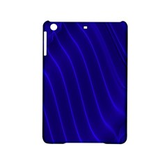 Sparkly Design Blue Wave Abstract iPad Mini 2 Hardshell Cases