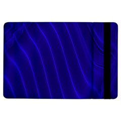Sparkly Design Blue Wave Abstract iPad Air Flip