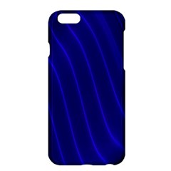 Sparkly Design Blue Wave Abstract Apple iPhone 6 Plus/6S Plus Hardshell Case