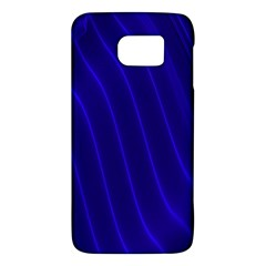 Sparkly Design Blue Wave Abstract Galaxy S6