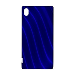 Sparkly Design Blue Wave Abstract Sony Xperia Z3+