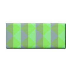 Squares Triangel Green Yellow Blue Cosmetic Storage Cases