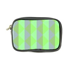 Squares Triangel Green Yellow Blue Coin Purse