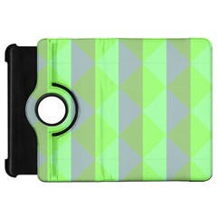 Squares Triangel Green Yellow Blue Kindle Fire HD 7