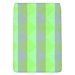 Squares Triangel Green Yellow Blue Flap Covers (S)