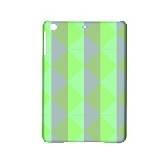 Squares Triangel Green Yellow Blue Ipad Mini 2 Hardshell Cases