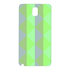 Squares Triangel Green Yellow Blue Samsung Galaxy Note 3 N9005 Hardshell Back Case