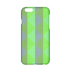 Squares Triangel Green Yellow Blue Apple iPhone 6/6S Hardshell Case