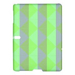 Squares Triangel Green Yellow Blue Samsung Galaxy Tab S (10.5 ) Hardshell Case