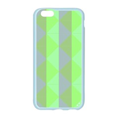 Squares Triangel Green Yellow Blue Apple Seamless iPhone 6/6S Case (Color)