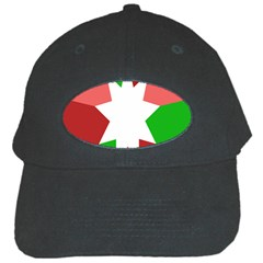 Star Flag Color Black Cap