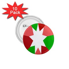 Star Flag Color 1.75  Buttons (10 pack)