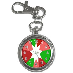 Star Flag Color Key Chain Watches