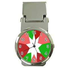 Star Flag Color Money Clip Watches