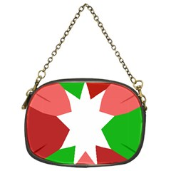 Star Flag Color Chain Purses (One Side)