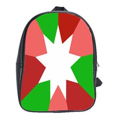 Star Flag Color School Bags(Large)