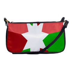 Star Flag Color Shoulder Clutch Bags