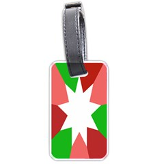 Star Flag Color Luggage Tags (Two Sides)