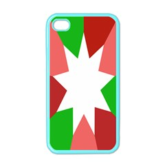 Star Flag Color Apple iPhone 4 Case (Color)