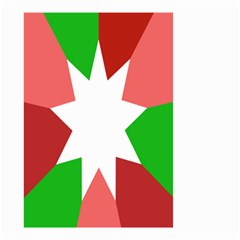 Star Flag Color Small Garden Flag (Two Sides)