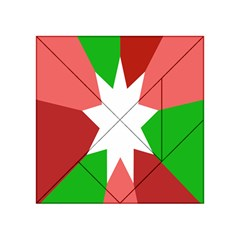 Star Flag Color Acrylic Tangram Puzzle (4  x 4 )