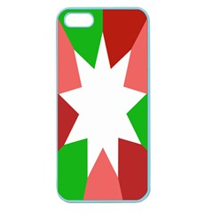 Star Flag Color Apple Seamless iPhone 5 Case (Color)