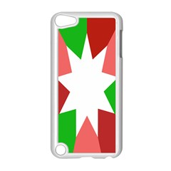 Star Flag Color Apple iPod Touch 5 Case (White)