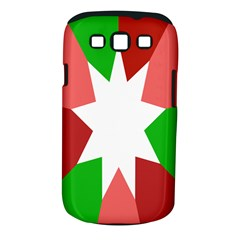 Star Flag Color Samsung Galaxy S III Classic Hardshell Case (PC+Silicone)