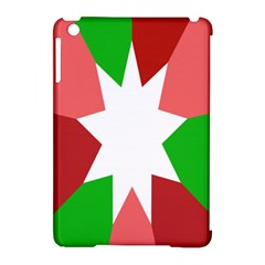 Star Flag Color Apple iPad Mini Hardshell Case (Compatible with Smart Cover)