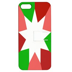 Star Flag Color Apple iPhone 5 Hardshell Case with Stand