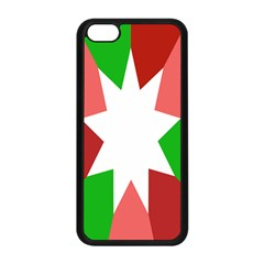 Star Flag Color Apple iPhone 5C Seamless Case (Black)