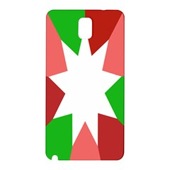 Star Flag Color Samsung Galaxy Note 3 N9005 Hardshell Back Case