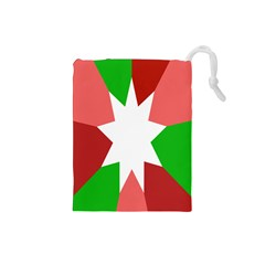 Star Flag Color Drawstring Pouches (Small)