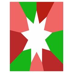 Star Flag Color Drawstring Bag (Large)