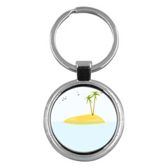 Summer Sea Beach Key Chains (Round)