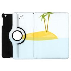 Summer Sea Beach Apple iPad Mini Flip 360 Case