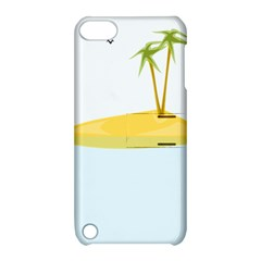 Summer Sea Beach Apple iPod Touch 5 Hardshell Case with Stand