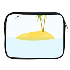 Summer Sea Beach Apple iPad 2/3/4 Zipper Cases