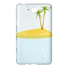 Summer Sea Beach Samsung Galaxy Tab 4 (8 ) Hardshell Case