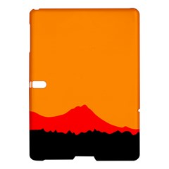 Sunset Orange Simple Minimalis Orange Montain Samsung Galaxy Tab S (10.5 ) Hardshell Case