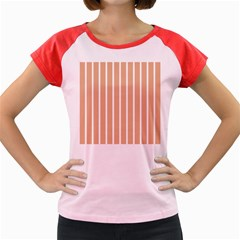 Symmetric Grid Foundation Women s Cap Sleeve T-Shirt