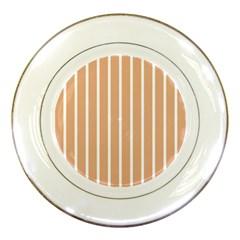 Symmetric Grid Foundation Porcelain Plates