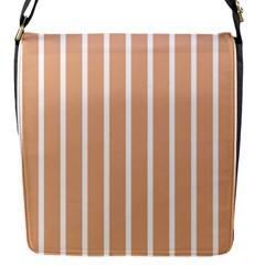 Symmetric Grid Foundation Flap Messenger Bag (S)