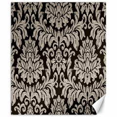 Wild Textures Damask Wall Cover Canvas 8  x 10