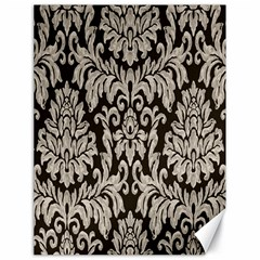 Wild Textures Damask Wall Cover Canvas 18  x 24