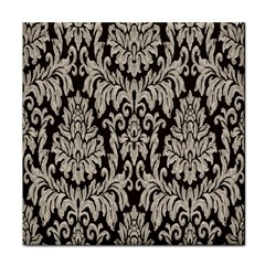 Wild Textures Damask Wall Cover Face Towel