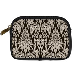 Wild Textures Damask Wall Cover Digital Camera Cases