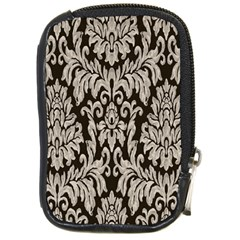 Wild Textures Damask Wall Cover Compact Camera Cases